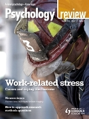 Psychology Review Magazine cover
